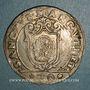 Coins Italie. Venise. Francesco Erizzo (1631-1646). 1/2 scudo à la croix (70 soldi)