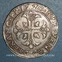 Coins Italie. Venise. Francesco Erizzo (1631-1646). Scudo à la croix (140 soldi)
