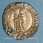 Coins Italie. Venise. Francesco Foscari (1423-1457). Gros de 8 soldi