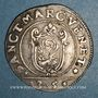 Coins Italie. Venise. Giovanni Bembo (1615-1618). 1/4 scudo à la croix (35 soldi)