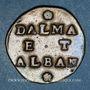 Coins Italie. Venise. Monnayage anonyme pour la Dalmatie et l'Albanie. Gazetta (2 soldi)