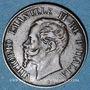 Coins Italie. Victor Emmanuel II (1861-1878). 1 centésimo 1867M. Milan