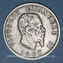 Coins Italie. Victor Emmanuel II (1861-1878). 1 lire 1867BN. Milan