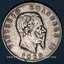 Coins Italie. Victor Emmanuel II (1861-1878). 5 lires 1865BN. Naples
