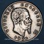 Coins Italie. Victor Emmanuel II (1861-1878). 5 lires 1870BN. Milan