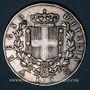 Coins Italie. Victor Emmanuel II (1861-1878). 5 lires 1871BN. Milan