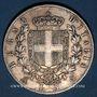 Coins Italie. Victor Emmanuel II (1861-1878). 5 lires 1873BN. Milan