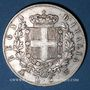 Coins Italie, Victor Emmanuel II (1861-1878). 5 lires 1874BN. Milan