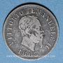 Coins Italie. Victor Emmanuel II (1861-1878). 50 centésimi 1863M. Milan