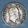 Coins Italie. Victor Emmanuel II (1861-1878). 50 centesimi 1863M. Milan