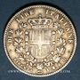 Coins Italie. Victor Emmanuel II, roi élu (1859-1861). 2 lires 1860. Florence