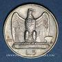Coins Italie. Victor Emmanuel III (1900-1946). 5 lires 1927R. Rome