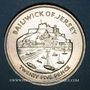 Coins Jersey. Elisabeth II (1952-). 25 pence 1977. Bailiwick of Jersey