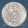 Coins Lituanie. Grand Duché. Sigismond II le Vieux (1506-1544). 1/2 gros 1510