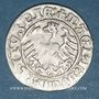 Coins Lituanie. Grand Duché. Sigismond II le Vieux (1506-1544). 1/2 gros 1511