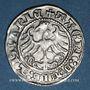 Coins Lituanie. Grand Duché. Sigismond II le Vieux (1506-1544). 1/2 gros 1513