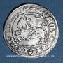 Coins Lituanie. Grand Duché. Sigismond II le Vieux (1506-1544). 1/2 gros 1514