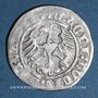 Coins Lituanie. Grand Duché. Sigismond II le Vieux (1506-1544). 1/2 gros 1515