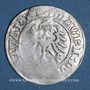 Coins Lituanie. Grand Duché. Sigismond II le Vieux (1506-1544). 1/2 gros 1518