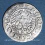 Coins Lituanie. Grand Duché. Sigismond II le Vieux (1506-1544). 1/2 gros 1519