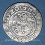Coins Lituanie. Grand Duché. Sigismond II le Vieux (1506-1544). 1/2 gros 1520