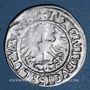 Coins Lituanie. Grand Duché. Sigismond II le Vieux (1506-1544). 1/2 gros 1521. Inédit !