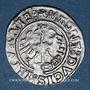 Coins Lituanie. Grand Duché. Sigismond II le Vieux (1506-1544). 1/2 gros 1525