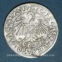 Coins Lituanie. Grand Duché. Sigismond III Auguste (1544-1572). 1/2 gros 1547