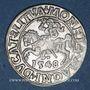 Coins Lituanie. Grand Duché. Sigismond III Auguste (1544-1572). 1/2 gros 1548