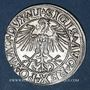 Coins Lituanie. Grand Duché. Sigismond III Auguste (1544-1572). 1/2 gros 1549