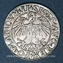 Coins Lituanie. Grand Duché. Sigismond III Auguste (1544-1572). 1/2 gros 1550