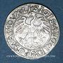 Coins Lituanie. Grand Duché. Sigismond III Auguste (1544-1572). 1/2 gros 1556