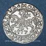 Coins Lituanie. Grand Duché. Sigismond III Auguste (1544-1572). 1/2 gros 1557