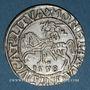 Coins Lituanie. Grand Duché. Sigismond III Auguste (1544-1572). 1/2 gros 1558