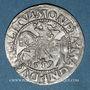 Coins Lituanie. Grand Duché. Sigismond III Auguste (1544-1572). 1/2 gros 1559