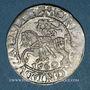 Coins Lituanie. Grand Duché. Sigismond III Auguste (1544-1572). 1/2 gros 1560