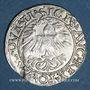 Coins Lituanie. Grand Duché. Sigismond III Auguste (1544-1572). 1/2 gros 1562