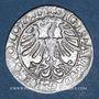 Coins Lituanie. Grand Duché. Sigismond III Auguste (1544-1572). 1/2 gros 1565. Différent : hache
