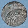 Coins Livonie. Riga. Occupation suédoise. Christine (1632-1654). 1 solidus 1655. Imitation contemporaine