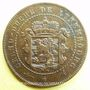 Coins Luxembourg. Guillaume III (1849-1890). 2 1/2 centimes 1854. Utrecht