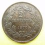 Coins Luxembourg. Guillaume III (1849-1890). 2 1/2 centimes 1870. Utrecht