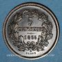 Coins Luxembourg. Guillaume III (1849-1890). 5 centimes 1855A