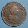 Coins Luxembourg. Marie-Thérèse d'Autriche (1740-1780). 2 liards 1757