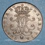 Coins Luxembourg. Marie-Thérèse d'Autriche (1740-1780). 2 liards 1760