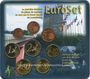 Coins Luxembourg. Série euro 2002