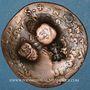 Coins Malte. Emmanuel de Rohan (1775-97). 4 tari contremarqué /4 tari (164...) de J. P. Lascaris (1636-57)