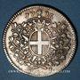 Coins Malte. Emmanuel de Rohan Polduc (1775-1797). Scudo (12 tari) 1796