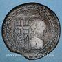 Coins Malte. Jean Paul Lascaris Castellar (1636-1657). 4 tari 1642