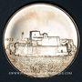 Coins Malte. République. 2 livres 1973. Fort San Angelo