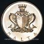 Coins Malte. République. 2 livres 1974. Francesco Abela